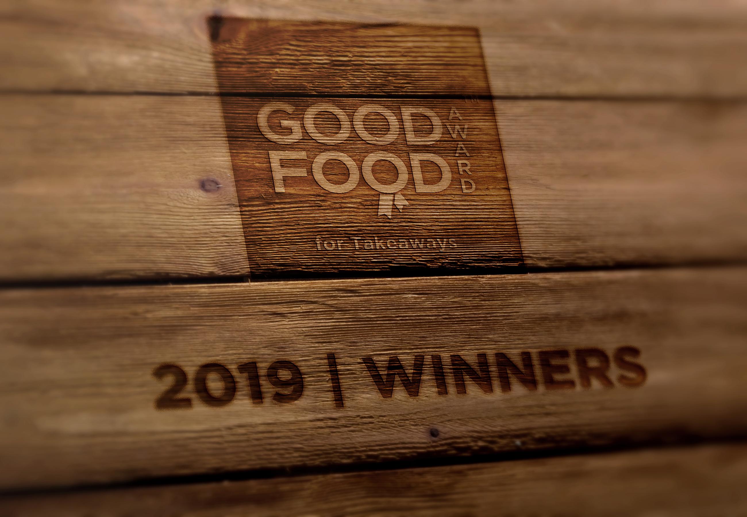 Good Food Award For Takeaways