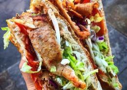 Döner Kebab on Mile End Road